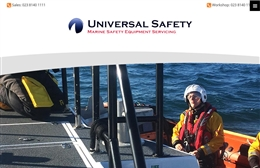 Website design case study for Universal Safety Ltd in Southampton