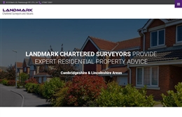Landmark Chartered Surveyors - Property website design by Toolkit Websites, professional web designers