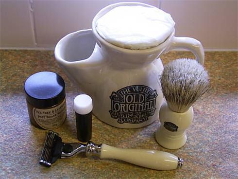 Vulfix Old Original Shaving Set