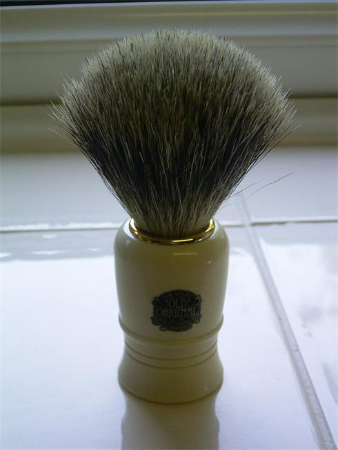 Quality Shave needs a quality brush