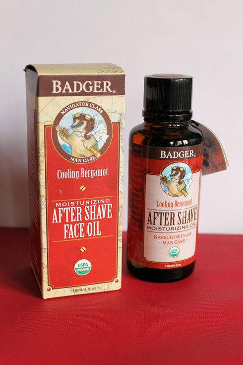 After Shave Cooling Moisturizing Face Oil,from The Man Care Badger Range