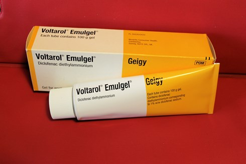 Voltarol Emulgel Each tube contains 100 g,Lot stronger than Standard Purchase