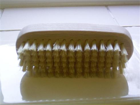Pure Bristle wooden Nail Brush
