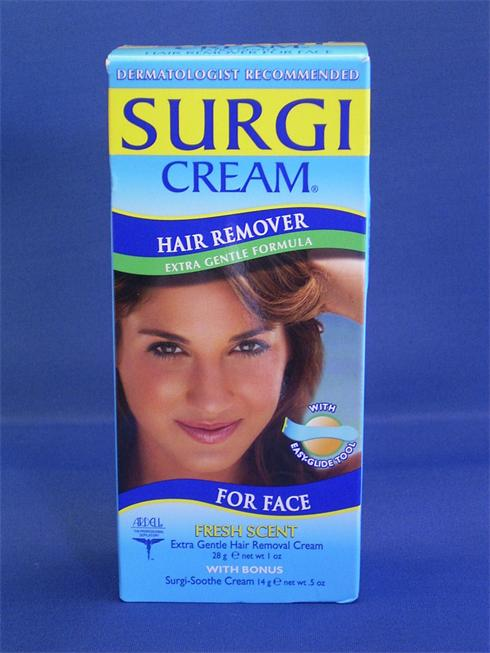 Surgi Cream Extra Gental For Face hair Removal