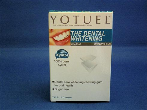Yotuel Nonsensitivity Whitening Classic Chewing Gum