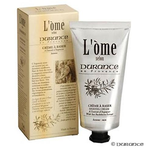 DURANCE shaving cream is rich and unctuous and will make shaving gentle and pleasant.