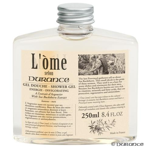 Shower Gel Invigorating L'Òme From Durance Its Solid Square Form Is Unmistakably Masculine