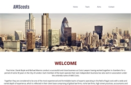 AMS Costs - Chancery Lane solicitors web design by Toolkit Websites, Southampton
