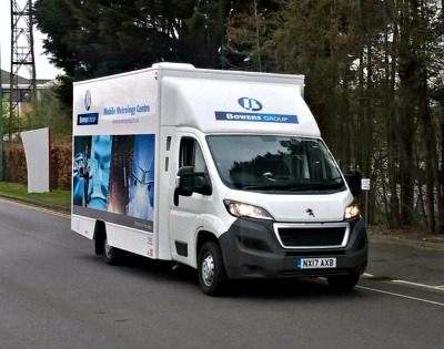 Bowers Group  Mobile Metrology Centre