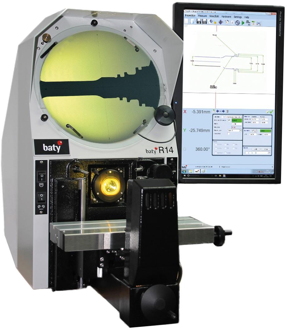 Baty R14 - Profile Projector