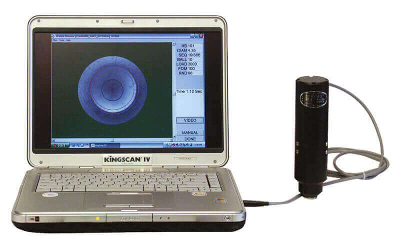 Kingscan III Automatic Brinell Video Microscope