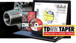 TDWIN TAPER Thread Disk for Tapered Threads