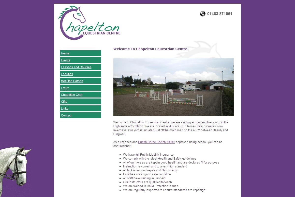 chapelton chat sites Chapelton farm equestrian centre  chapelton chat site mapcontact ©  copyright 2018 chapelton farmweb design by toolkit websites.