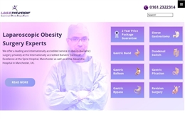 Professor Basil Ammori, Laparoscopic Obesity Surgery Experts - web design by Toolkit Websites, Southampton