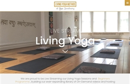 Yoga Sanctuary - Yoga School website design by Toolkit Websites, professional web designers