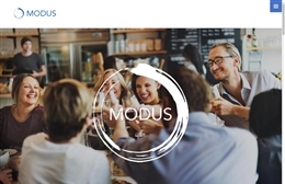 Modus Consultancy - website design by Toolkit Websites, professional web designers
