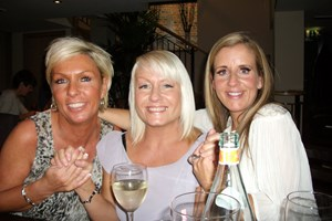 Helen, Debbie and our Manager Faye.
