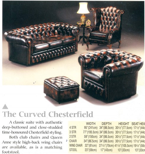 CURVED CHESTERFIELD