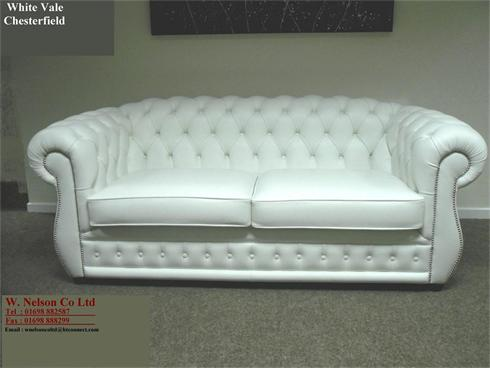 VALE CHESTERFIELD WHITE