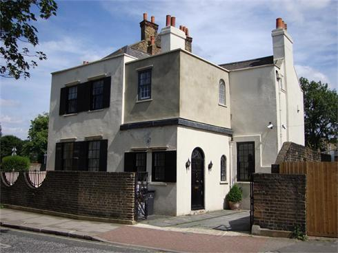 15. Extension to a Listed  Grade II house, SW4.