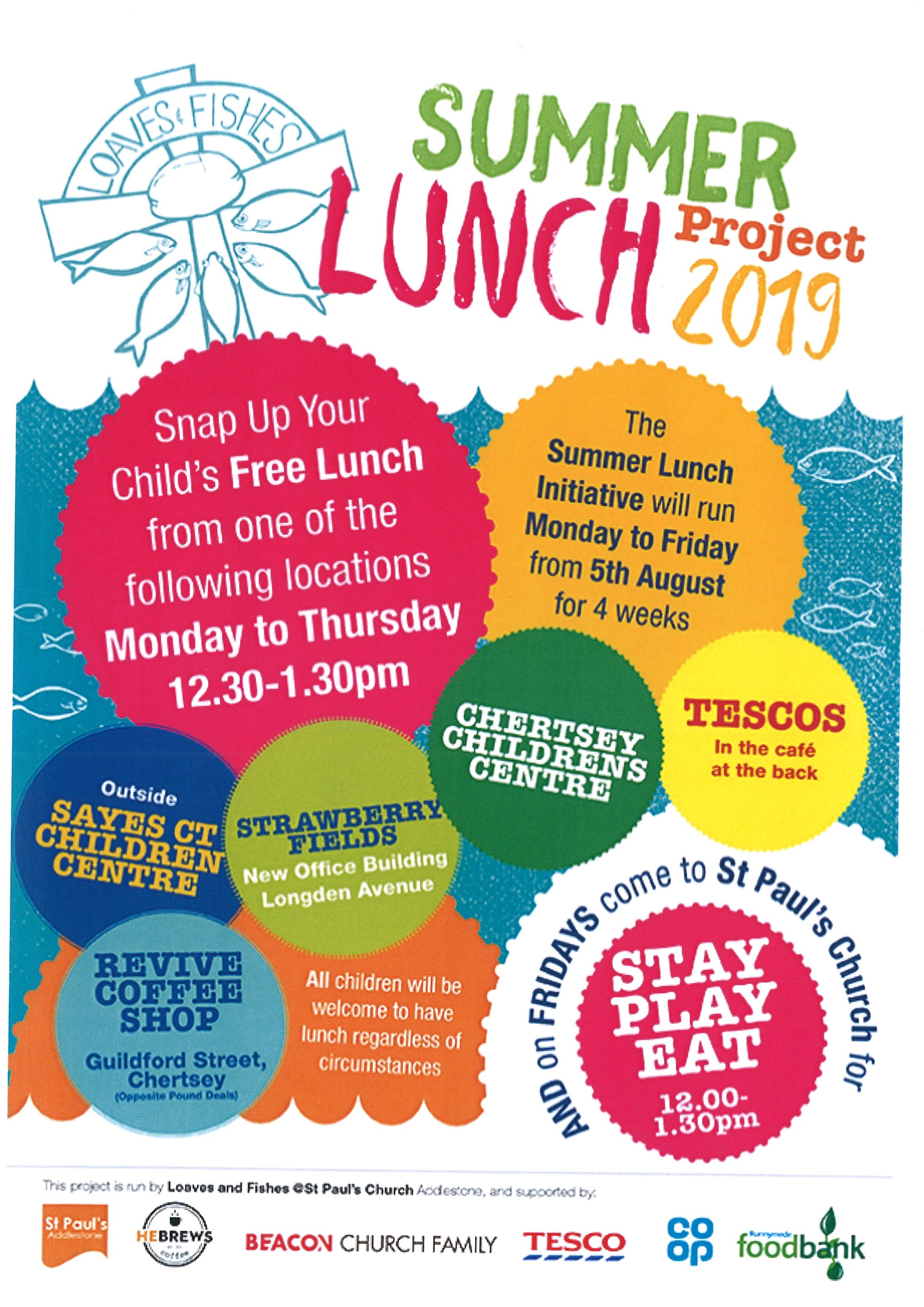 Summer Lunch Project 2019