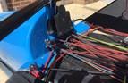 Tacking bracket - king post mounted