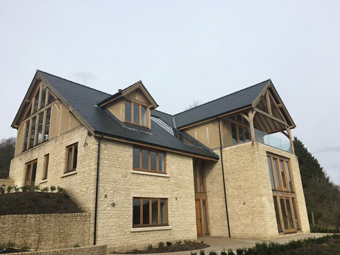 New Build at Woodchester, Spanish Sates
