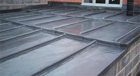 A Finished Lead roof
