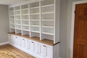Bespoke Bookcase cabinetry