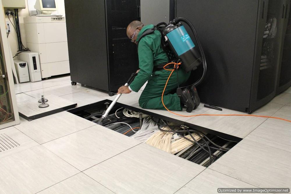 Under floor cleaning