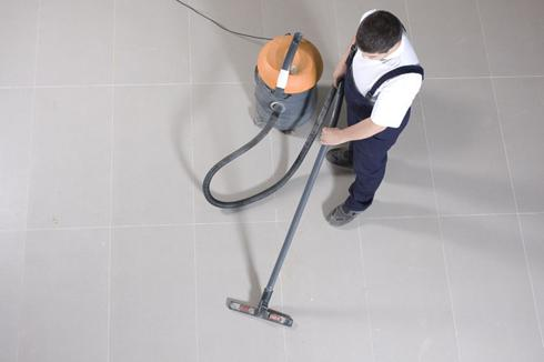 Raised surface floor cleaning