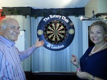 Rotary Club of London Darts Venue