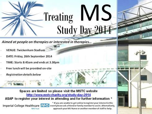 ms, london, multiple sclerosis, imperial health care