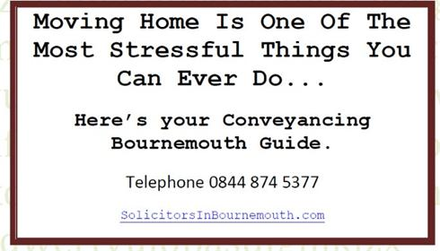 Conveyancing solicitors bournemouth telephone 0844 874 5377 but before you hire someone check their credentials because you dont want someone without local knowledge in a call centre always engage solutioingenieria Images