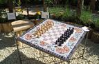 CHESS TABLE, BLENHEIM 2014