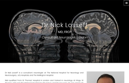 Nick Losseff - web design by Toolkit Websites, professional web designers