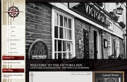 Victoria Inn - Pub website design by Toolkit Websites, Southampton