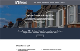 Carson - Property web design by Toolkit Websites, professional web designers