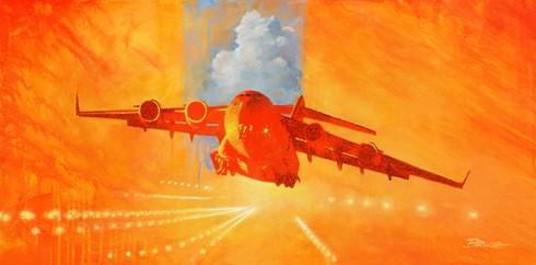 Ebola. Unsung Heroes.  Boeing C-17