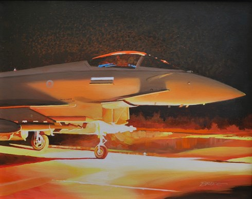 Night Life. RAF Typhoon.