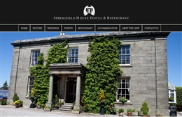 Springfield House Hotel - website design by Toolkit Websites, Southampton