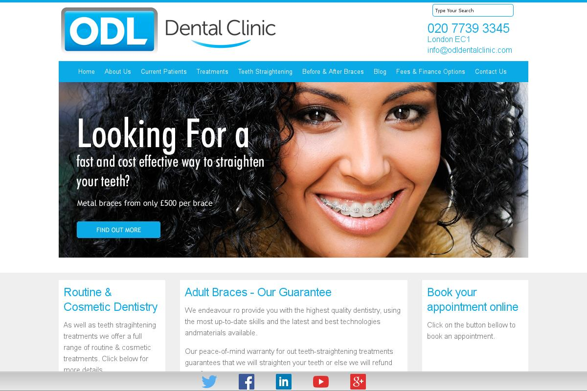 Odl Dental Clinic Orthodontics London Odl Dental Clinic