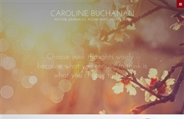 Caroline Buchanan - Counselling website design by Toolkit Websites, professional web designers