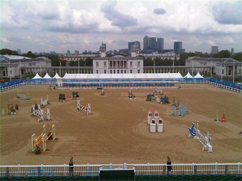 The Event Team ran The Vip and Riders Hospitality at Greenwich Test Olympics - London Prepares