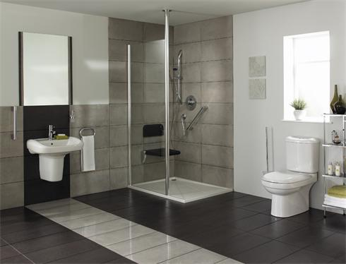 Designer wet room for disabled client