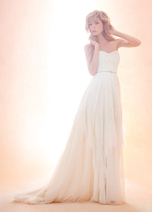 Blush gown 1407 by Hayley Paige