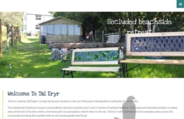 Welsh Country Holiday - Rental property website design by Toolkit Websites, Southampton