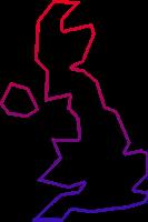 UK map icon