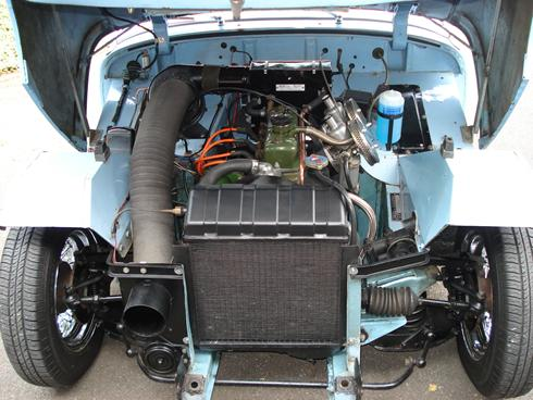 LPJ engine bay