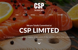 CSP Food Services Ltd - website design by Toolkit Websites, professional web designers
